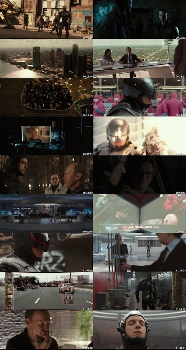 RoboCop 2014 Dual Audio Hindi English BRRip 480p