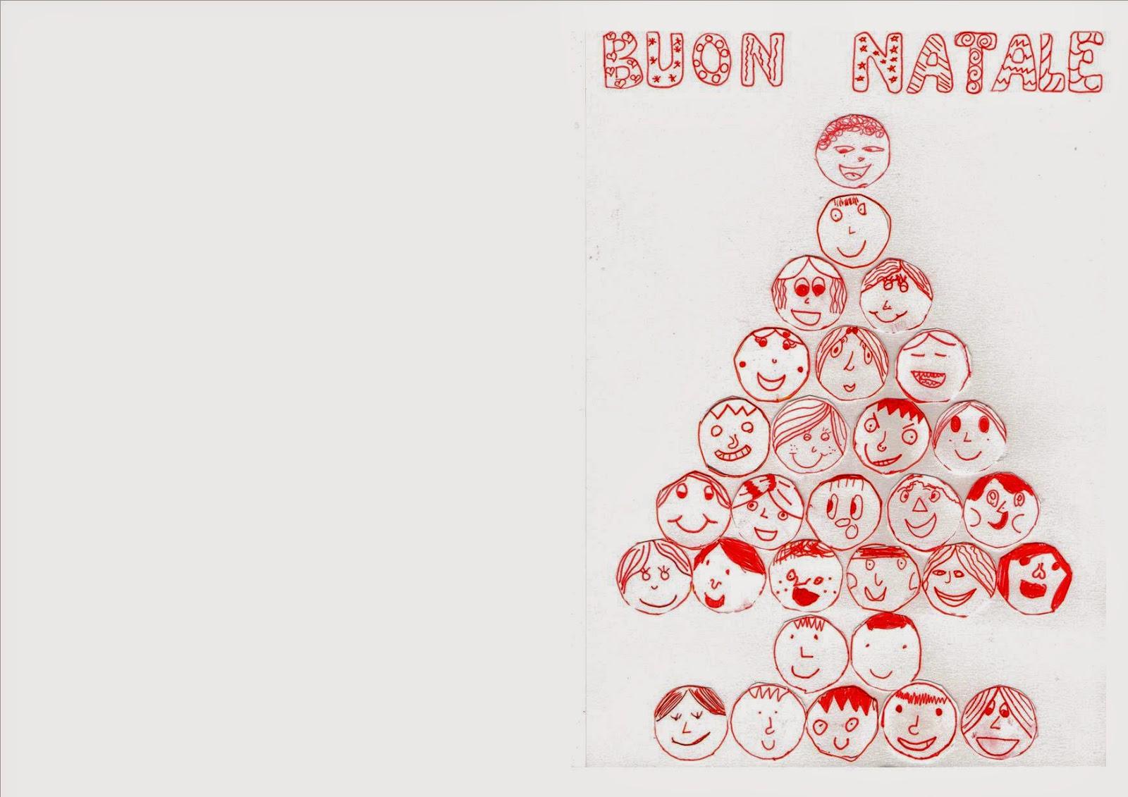 Biglietti Buon Natale Bambini.Apedario Auguri Biglietti E Poesie