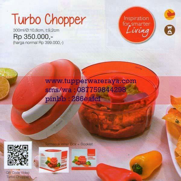 Katalog Tupperware Promo Januari 2015 Turbo Chopper