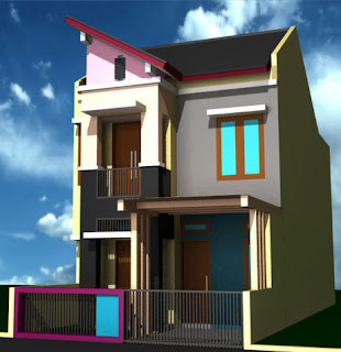 Gambar Desain Rumah Minimalis 2 Lantai