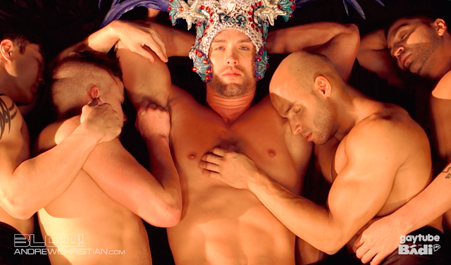 New Andrew Christian video - The Coronation