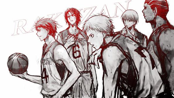 Rakuzan Basketball Team 2w