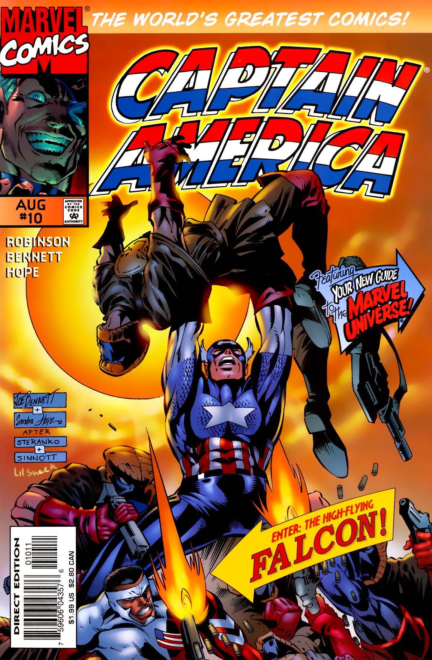 Captain America (1996) Issue #10 #10 - English 1