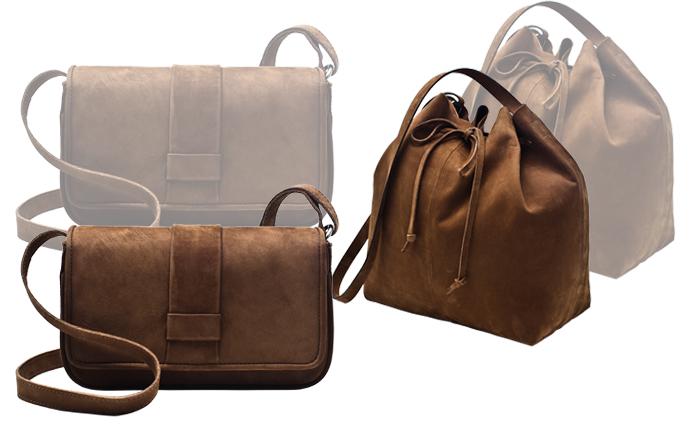 82f577b506f71 ALEXANDRE PAVÃO e EGREY repetem a dobradinha e lançam nova coleção de  acessórios, são sapatos e uma serie de bolsas de chamois. Lindos.
