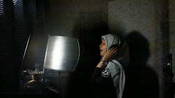 taking vocal for jingle Simpati (advertising)