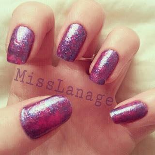 31-day-challenge-saran-wrap-manicure