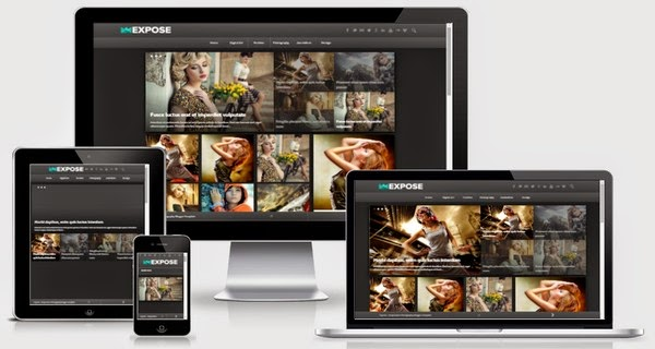 Expose Responsive Blogger Template Free Download