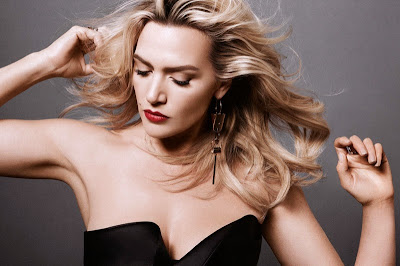 Kate Winslet posed in sexy lingerie on Harpers Bazaar