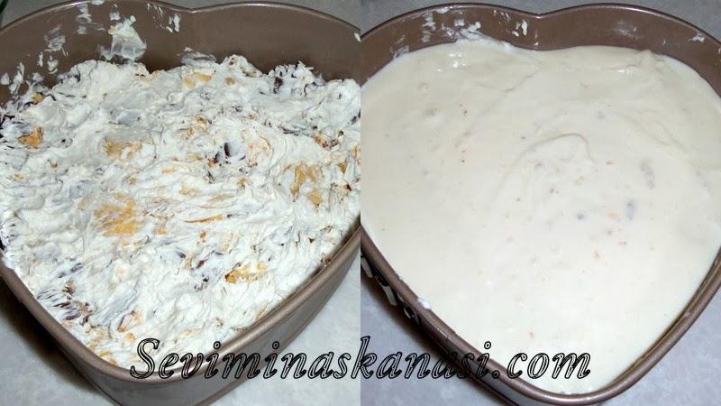 Halleyli Pasta Tarifi  Halleyli Pasta Nasıl Yapılır ? Halleyli Tatlı Tarifi Halleyli Tatlı