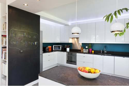 Cucina Pareti Blu: Piastrelle cucina azzurre: come scegliere il ...
