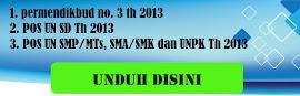 UJIAN NASIONAL (UN) 2013