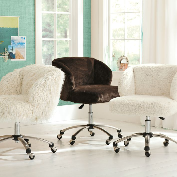 i these fuzzy desk chairs studio