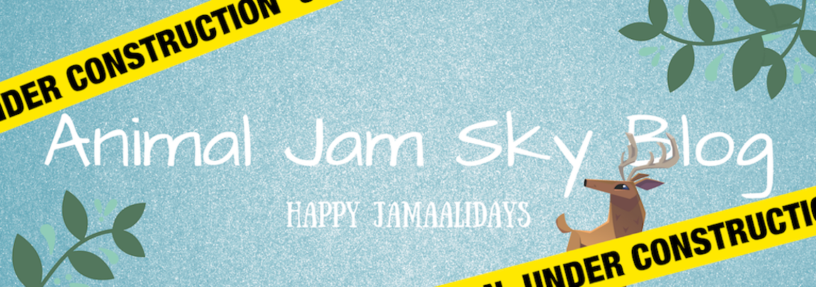 Animal Jam Sky Blog
