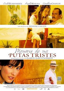 Ver online:Memoria de mis putas tristes (2011)