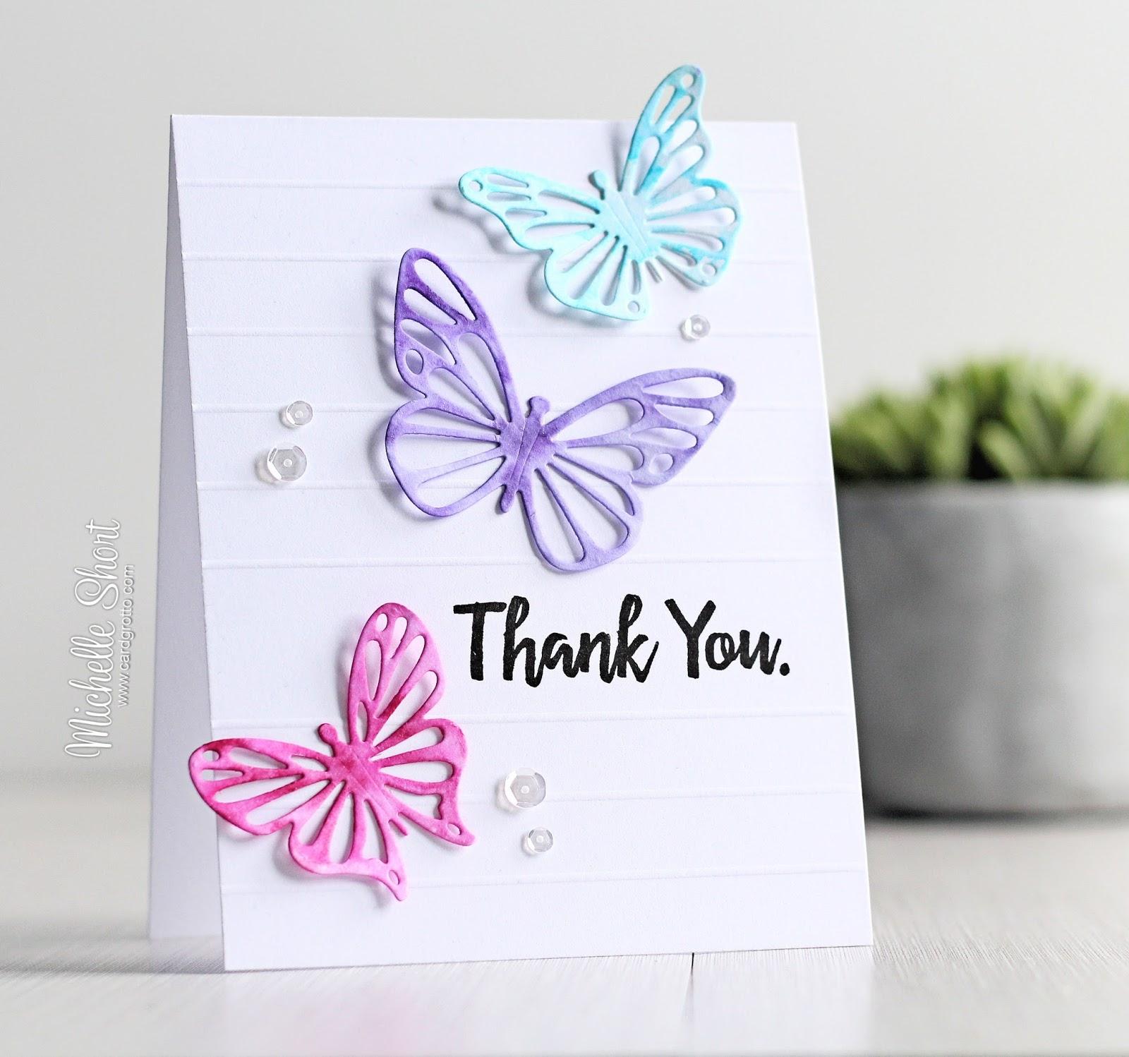 the card grotto flutter of butterflies
