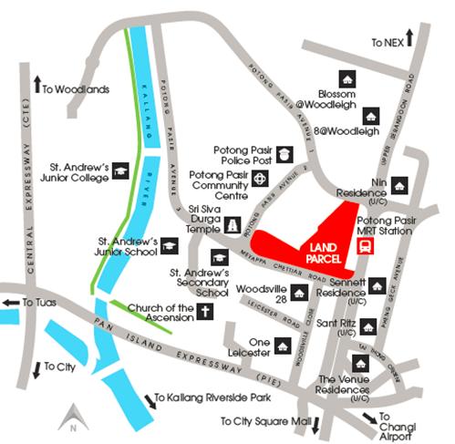 Pavilion @ Potong Pasir Location