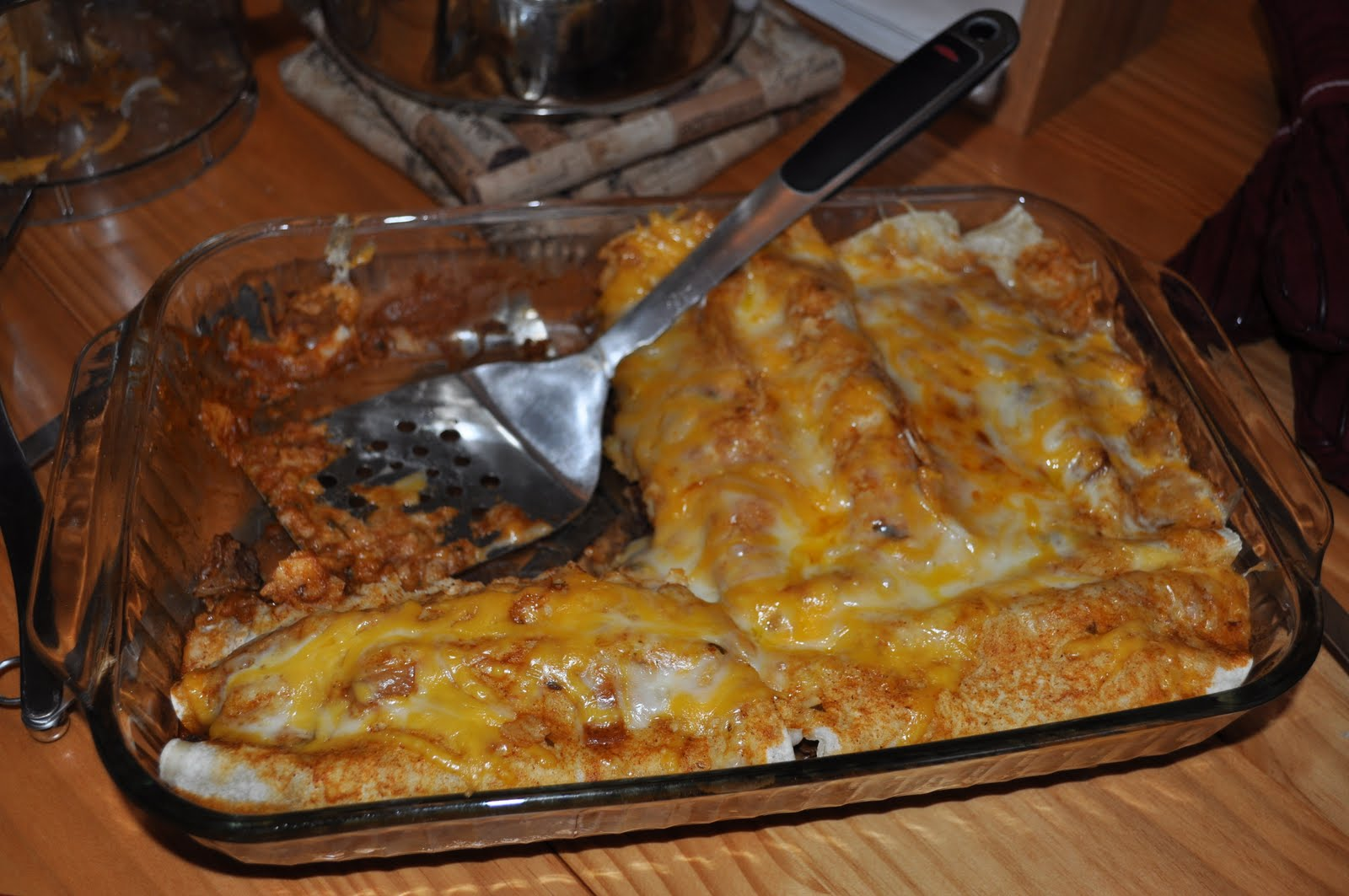 Recipe: Shredded Beef Enchiladas (Homemade, from scratch)