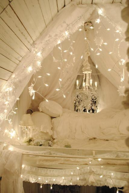 Loveupaperly Dreamy Beds With Canopy 39 S And Lights