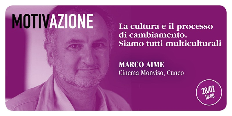 Marco Aime a Cuneo