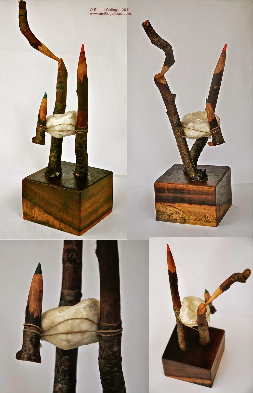 Elementos Esenciales, escultura, 2014.