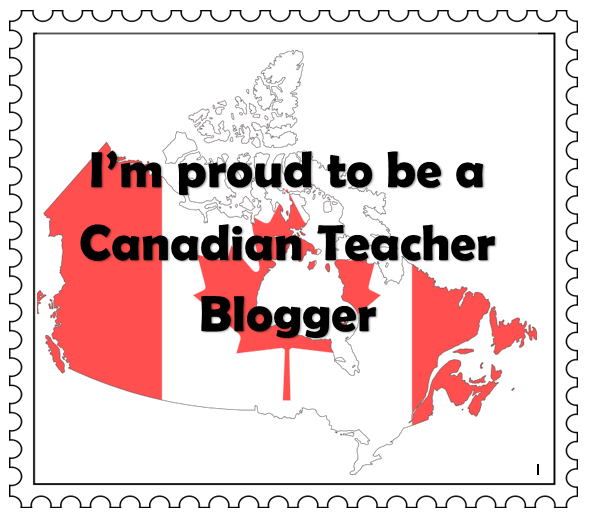 Photo of Proud Canadian Teacher Blog Award button