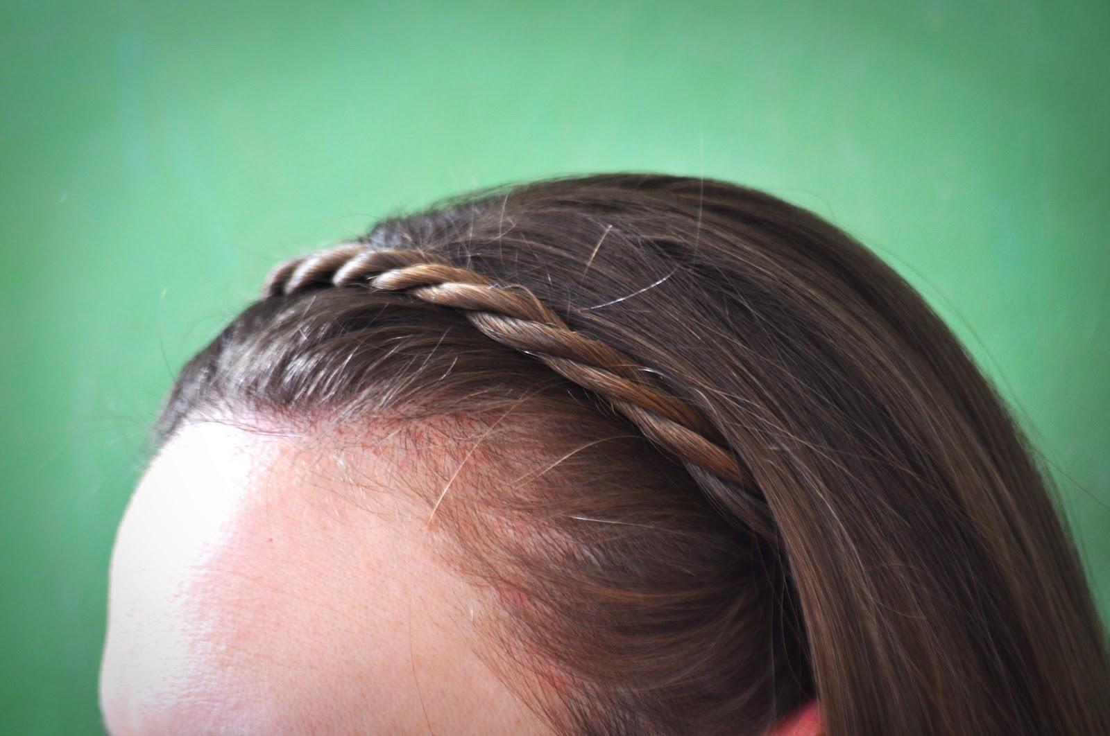 headband braid tutorial - photo #24