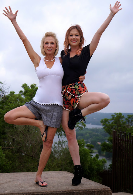 MT BONNELL, AUSTIN TEXAS, TREE POSE, MOTHERS DAY