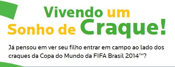 """Promoção """"Sonho De Craque"""" 2014 - McDonald's"""