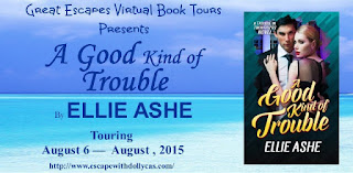 http://www.escapewithdollycas.com/great-escapes-virtual-book-tours/books-currently-on-tour/a-good-kind-of-trouble-by-ellie-ashe/
