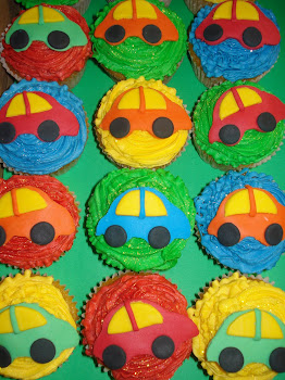 Baby Car Cupcakes