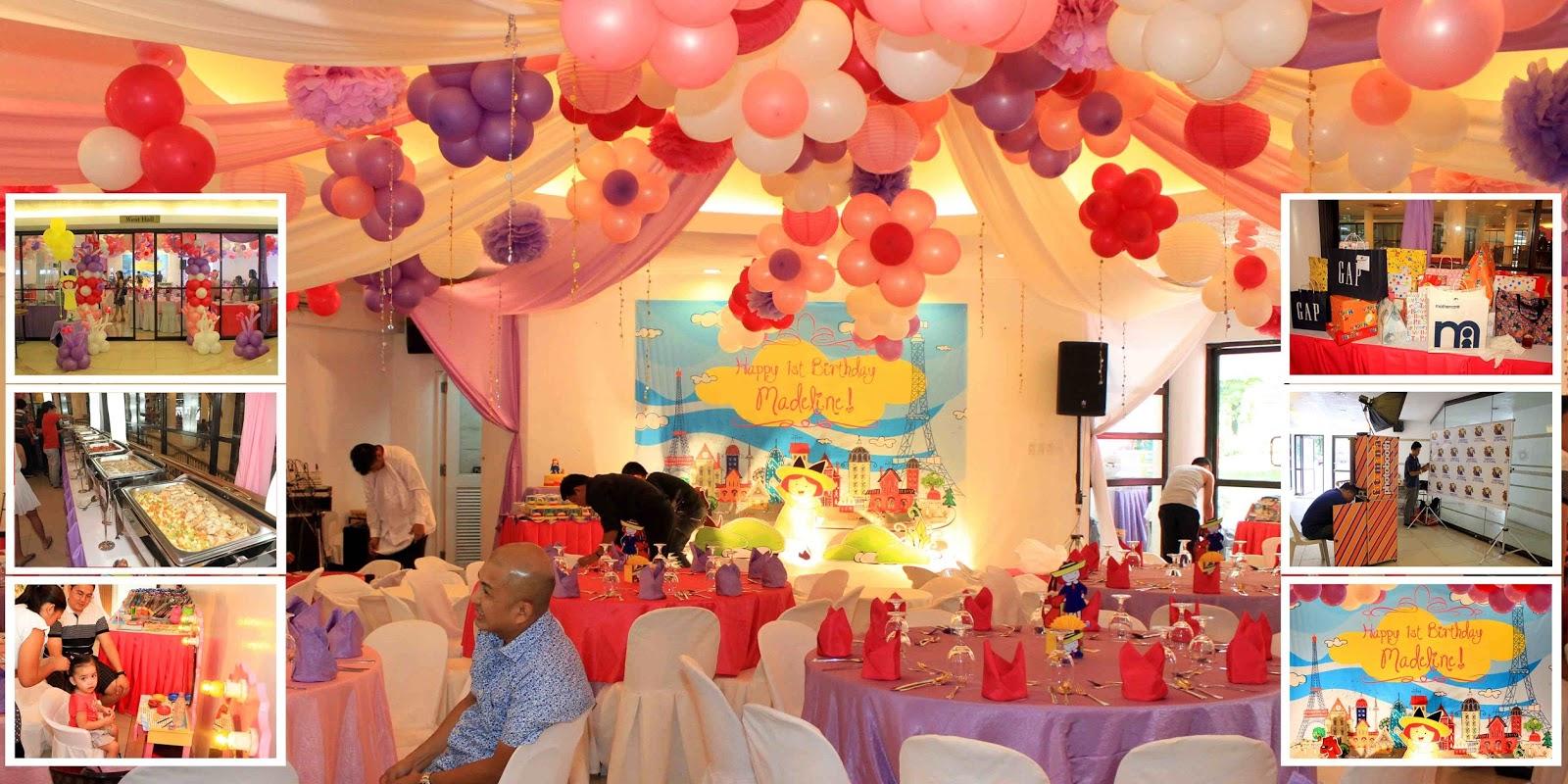 Madeline 1st birthday! KIDDIE PARTY PHOTOGRAPHER MANILA PHILIPPINES