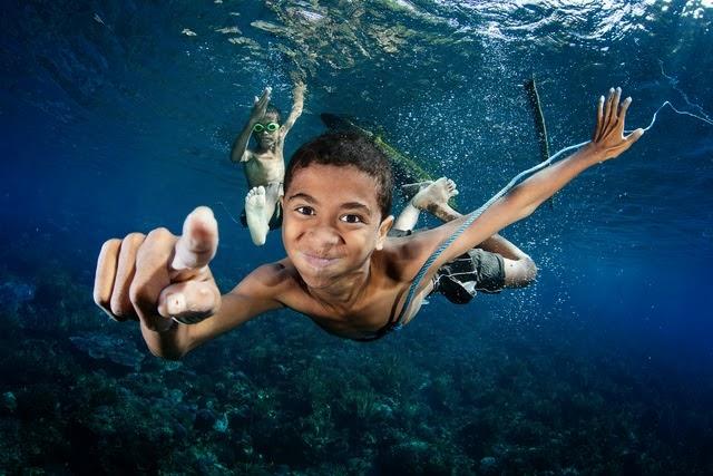 Imagem mais bonita debaixo da agua