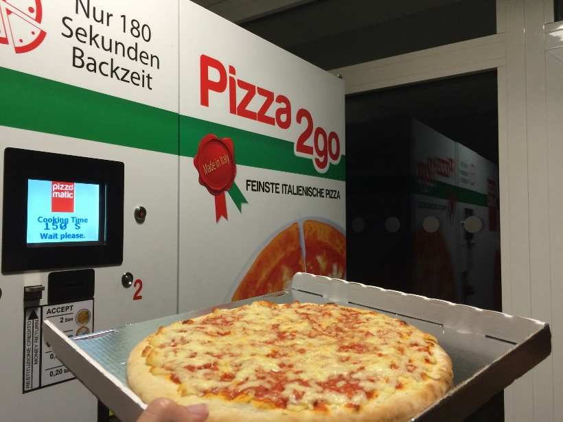 Vending machine pizza Munich