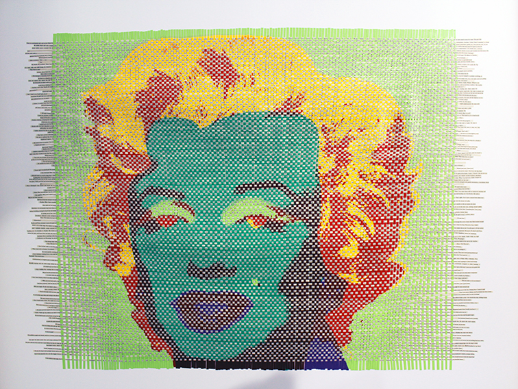 Marylin Monroe by Jochen Holler at Miami Art Basel 2014