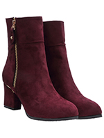 Boots Bordeaux color