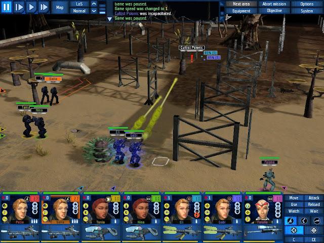 UFO: Aftershock - Laser Sniper Description
