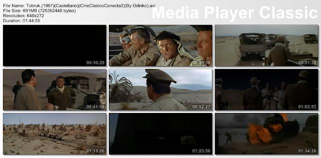 Tobruk (1967) Capturas de pantalla de la pelicula