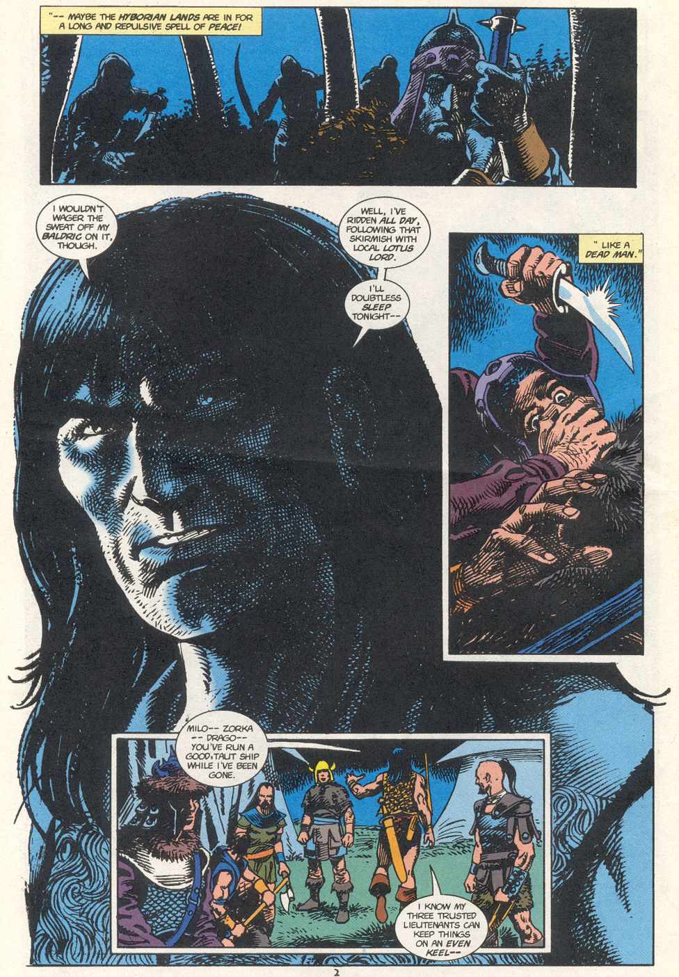 Conan the Barbarian (1970) Issue #274 #286 - English 3