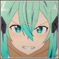 Avatar na forum z Sinon