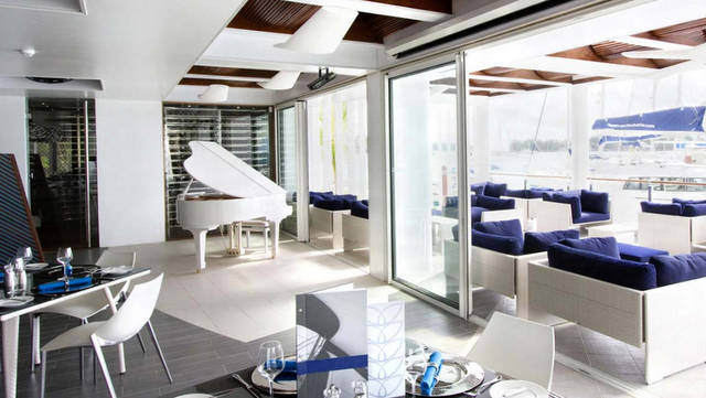Konoba restaurant/bar/lounge Eden Island Mahé Seychelles