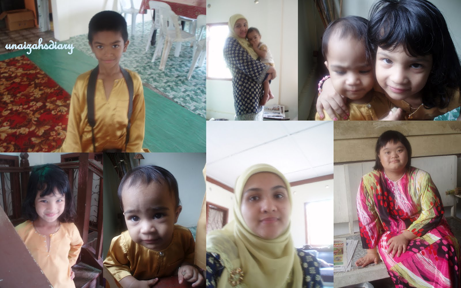 Memories Experiences Thoughts Hopes Dreams Aidiladha 2011 In Pahang New Zarra Kids This Was The First Time For To Celebrate Raya We Usually Take Turn Between Kedah And Kelantan Seldom Imran Were