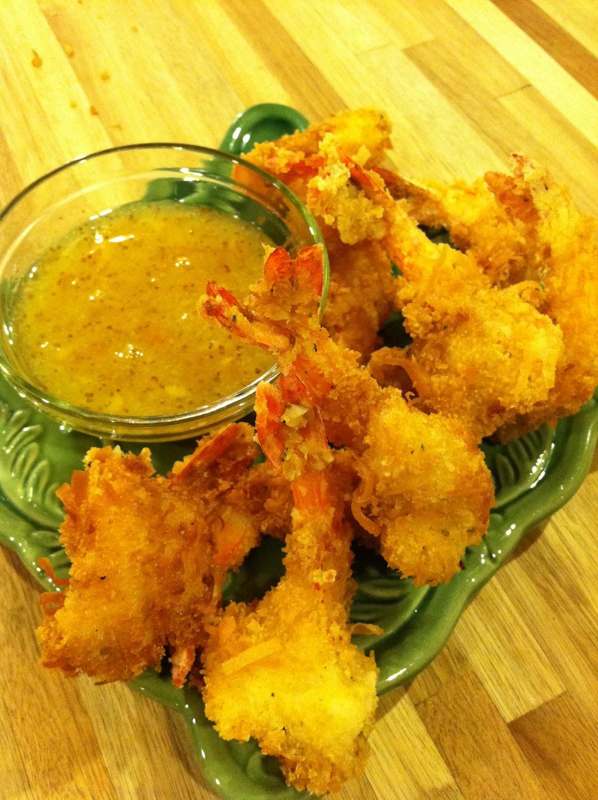 Melissa's Coconut Shrimp with Orange-Marmalade Sauce