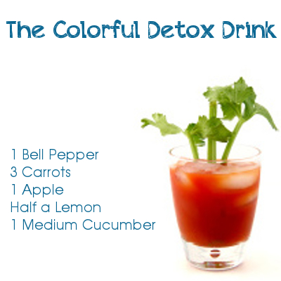 The Colorful Detox Drink