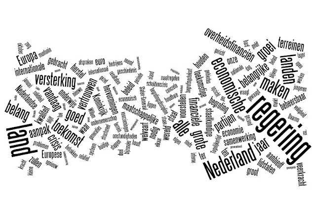 Wordle: Woordenwolk Troonrede 2012