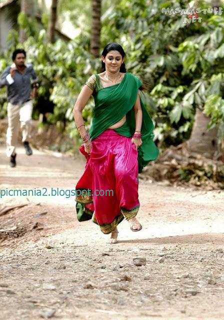 Kamana Jethmalani in a saree  Sexy Dress exposing Hot Boobs Cleavage navel