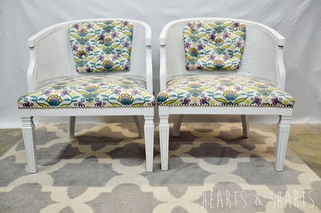 #thriftscorethursday Week 7 Features | Twitter user: HeartsAndSharts shows off her beautiful set of chairs