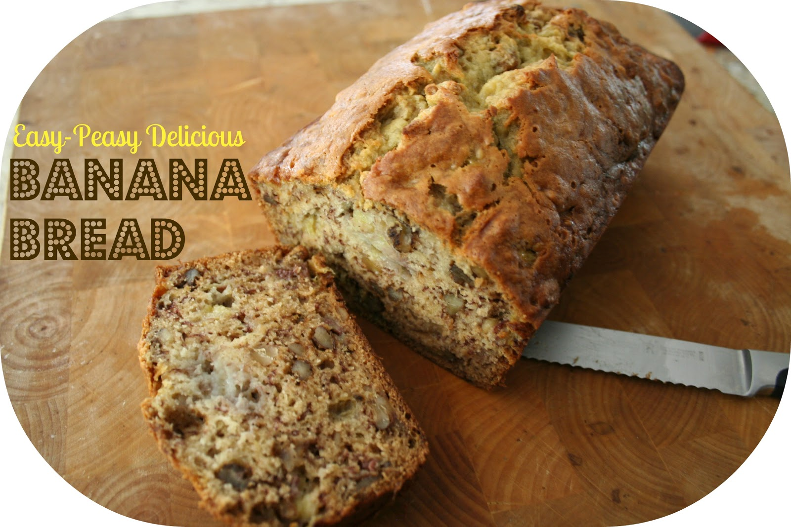 Easy Delicious Banana Bread | The Happier Homemaker