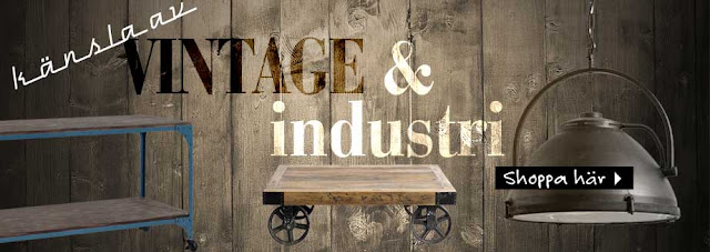 inredning industri vintage