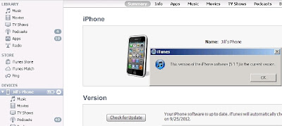 cara upgrade iPhone IOS 6