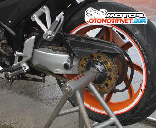 Modifikasi Honda All New CBR150R Fans Marquez